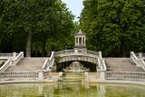 Fountain of Darcy park in Dijon