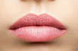 Natural frosted pink lips - 79946889
