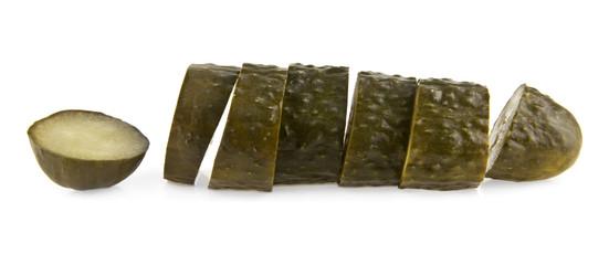 salt cucumbers