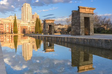 Temple of Debod, Madrid (Spain)