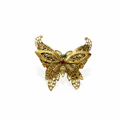 Schmetterling aus Gold