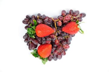 Uva e fragole