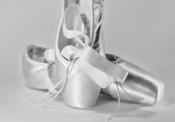 Dance pointe shoes