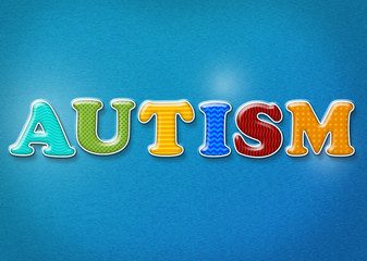 Colorful Autism Theme