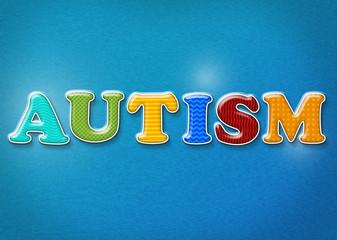Colorful Autism Theme