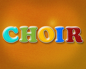 Colorful Choir Theme