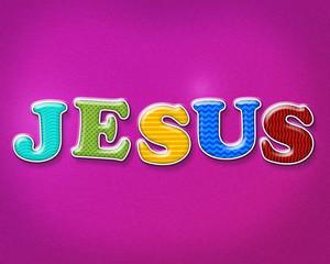 Colorful Jesus Theme