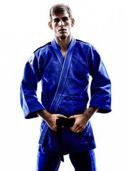 judoka fighter man silhouette