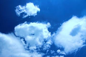 Sky blue of Thailand