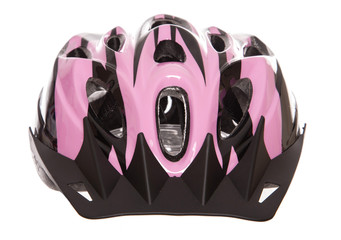 pink womens cycling helmet