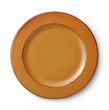 brown plate - 79953067