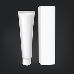 blank cosmetics packages