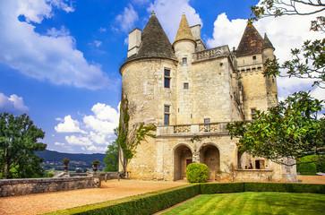 most impressive medieval castles of France - Milandes