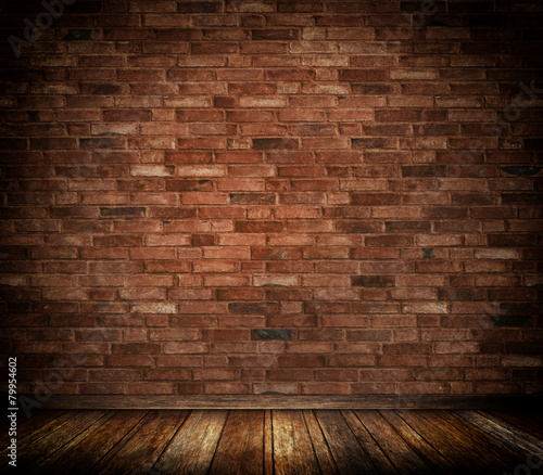 Bricks wall background.