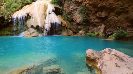 Khor louang waterfall in lamphun Thailand