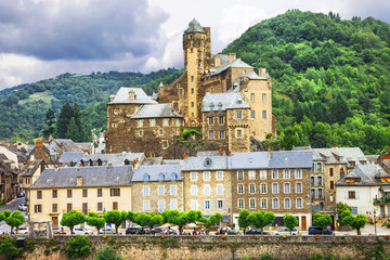 Estaing- one of the most beautiful villages of France list