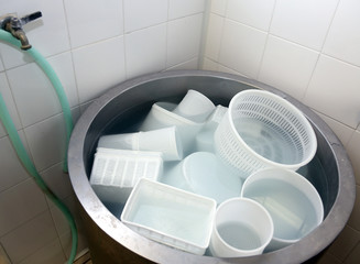 dairy containers for making cheese