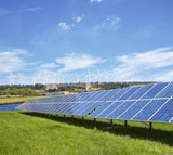 Windpark Solaranlage 3
