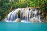 Fototapety tropical waterfall in Deep forest
