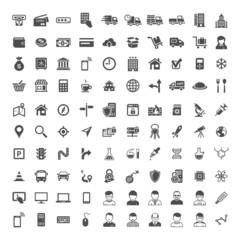 Universal Icon Set. 100 icons