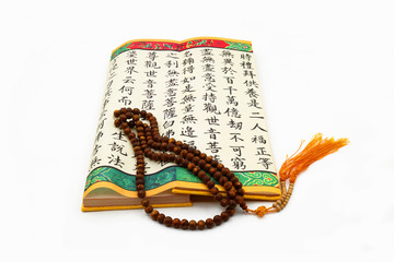 Buddhist Scripture and Bodhi Beads