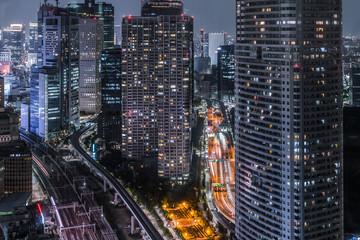 貿易センタービルからの東京の夜景