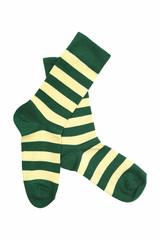 Носки желто зеленые