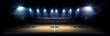 Leinwandbild Motiv Basketball stadium
