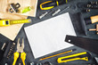 Assorted Do It Yourself Tools and Notebook - 79960266