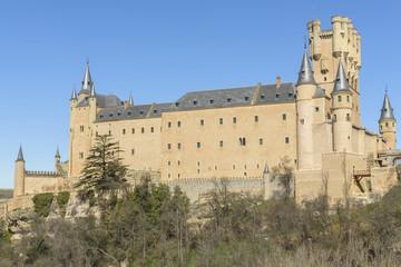 The Alcazar of Segovia (Spain)