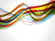 colorful web abstract background