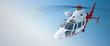 Leinwanddruck Bild - Helicopter