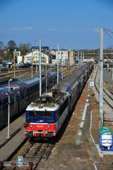 gare de chemins de fer