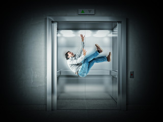 scary elevator