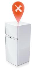 Réfrigérateur en panne : réparation nécessaire