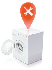 Machine à laver en panne : réparation nécessaire