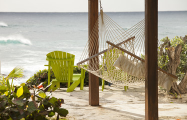 hammock with view of the ocean