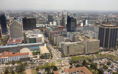 Aerial Nairobi