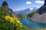 Fototapeta Le Grand Lac - Massif des Cerces