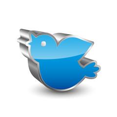 Bird 3D Icon