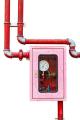 Controller of water sprinkler and fire fighting system on isolat