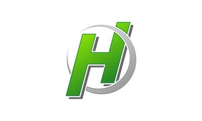 H Letter Logo Template 1