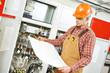 electrician engineer worker - 79967266