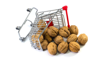 walnut in the cart