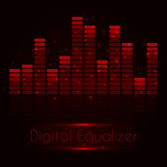 Digital red equalizer