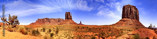 Leinwandbild Motiv Monument Valley