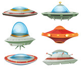 Flying Saucer, Spaceship And UFO Set - 79969069