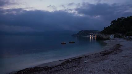 HD time lapse of sunrise, Padulella beach, Elba, Italy