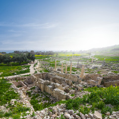 amatus polis ruin cyprus limassol