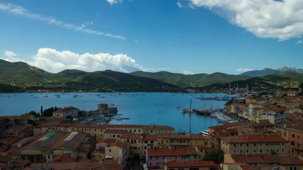 HD time lapse video of the harbour of Portoferraio, Elba, Italy.